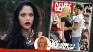 Nazarena reveló la desoladora reacción de Barbie Vélez cuando vio la tapa de Fede Bal y Laurita.