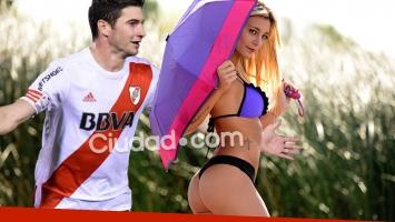 Lucas Alario y Sol Pérez se conocen por amigos en común. Pero, al menos por ahora, no pasó nada. (Fotos: Ciudad.com y Web)