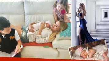 Evangelina Anderson, a un mes y medio de dar a luz:
