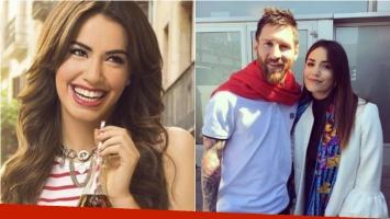 ¡Choque de planetas! El encuentro de Lali Espósito con Messi en Barcelona