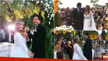 Sol Estevanez se casó con Mariano Uranga, tras 2 años juntos: