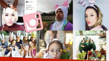 ¡Día a puro chocolate! Los famosos celebraron las Pascuas en todo el mundo: ¡espiá sus fotos!