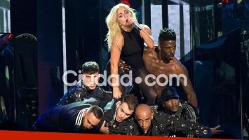 Lady Gaga, boom total en el festival de Coschella. Foto: AFP.
