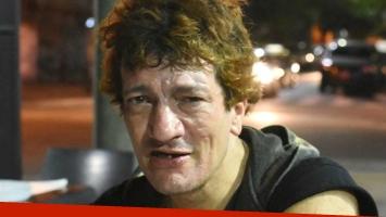 Chocó Pity Álvarez con su moto: fue trasladado en helicóptero y está internado.