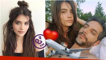 Eva de Dominici habló de cómo maneja su relación a distancia con Joaquín Furriel (Fotos: Instagram)