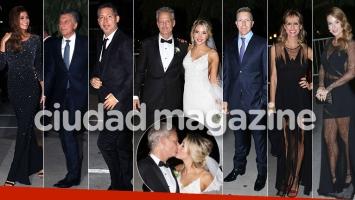 La mega boda de Luly Drozdek y Hernán Nisembaum: noche de fiesta repleta de súper famosos. (Foto: Movilpress)