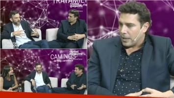 Matías Alé hizo terapia en el Consultorio en Vivo de Gervasio Díaz Castelli: