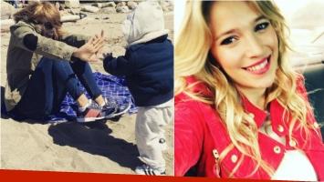 La foto súper tierna de Luisana Lopilato, divertida junto a su hijo: