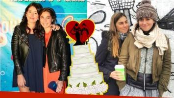 Leticia Siciliani sorprendió a su novia al pedirle casamiento en vivo: