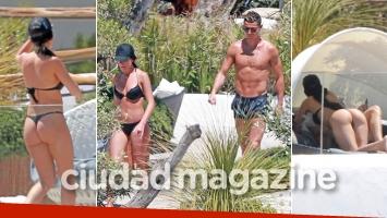 Cristiano Ronaldo y su novia modelo, una pareja súper sexy en las playas de Ibiza. (Foto: Grosby Group)