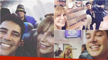 Las fotos del reencuentro de Graciela Alfano y Matías Alé a 9 años de su separación. Foto: Instagram