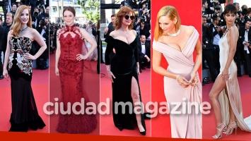 Espiá los looks de las celebrities de Hollywood en el Festival de Cannes. (Foto: AFP)