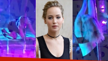 El video de Jennifer Lawrence bailando borracha en ropa interior en un boliche de strippers y su descargo