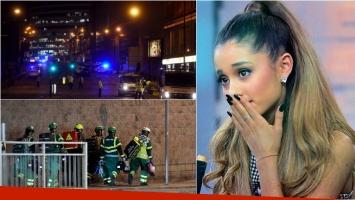 Pánico en un recital de Ariana Grande en Mánchester por una explosión: hay muertos y heridos. Foto: AFP
