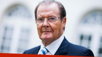 Murió Roger Moore, víctima de un cáncer. Foto: AFP.