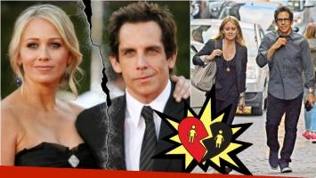 Ben Stiller anunció su separación de Christine Taylor: