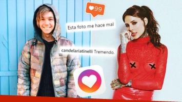 Los mensajes de Cande Tinelli en el Instagram de Franco Masini… y su divertido cruce con una seguidora.