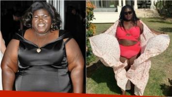 Gabourey Sidibe, la protagonista de Preciosa bajó muchísimo de peso… ¡y ya luce con orgullo sus curvas en malla! Foto: Instagram