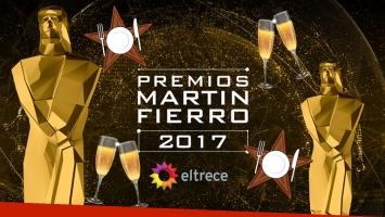 Enterate qué van a comer los famosos en la gran noche de los Martín Fierro 2017.