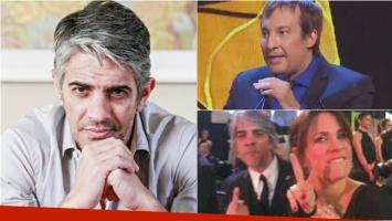 La aclaración de Pablo Echarri tras la polémica foto de los Martín Fierro.