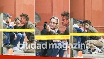 ¡Suegro furioso! Sean Penn increpó en plena calle al novio de su hija: el incontenible llanto de su exmujer, Robin Wright. (Foto: Grosby Group)