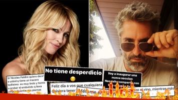 ¡Qué palabritas! Rocío Guirao Díaz mostró los mensajes ultra hot que le mandan a su marido.