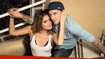 Silvina Luna y El Polaco afrontan la primera crisis de una pareja que prueba con la convivencia. Foto: Revista Gente