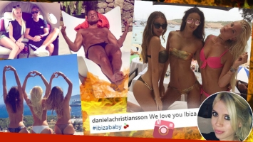 Las vacaciones súper sexies de Maxi Lopez junto a su novia y sus amigas modelos