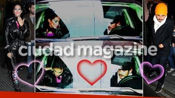 ¡La agarramos justo! Silvina Escudero, las primeras fotos junto a su nuevo novio, Federico. (Foto: Movilpress)