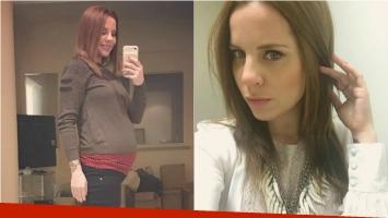La selfie de Agustina Kämpfer en la dulce espera y el emotivo mensaje a su bebé. Foto: Instagram