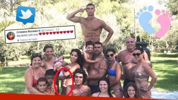 ¿Confirmación encubierta? Cristiano Ronaldo y la foto de la pancita de su novia