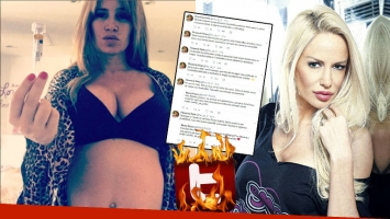 Fuertes tweets de Flor Peña, tras el alquiler de vientre de Luli Salazar debido a su trombofilia
