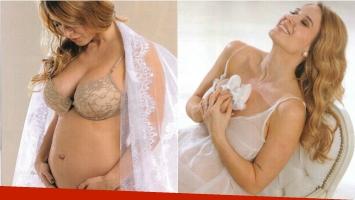 La producción sexy de Jésica Cirio, embarazada de cinco meses. Foto: Revista Caras