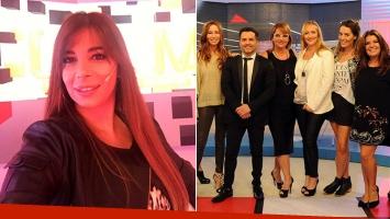 Ximena Capristo debutó como panelista de Los Ángeles la Mañana