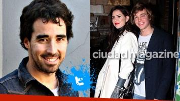 ¡Ex con buen onda! El divertido gesto tuitero de Nacho Viale con Cande Tinelli y Franco Masini. Foto: archivo Ciudad y Web
