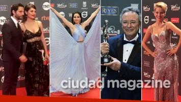 ¡Noche de gala! Mirá los looks de los famosos en la alfombra roja de los Premios Platino