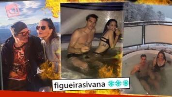 ¡Derriten la nieve! Ivana Figueiras y Tomás Guarracino, una parejita hot