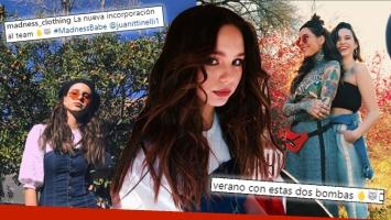 ¡Chica furor en redes! Juana Tinelli, la modelo centennial de la marca de Candelaria