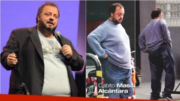 Cabito Massa Alcántara, tras el bypass gástrico con el que bajó 70 kilos: