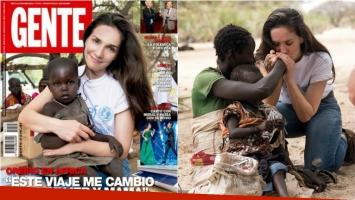 Natalia Oreiro, tapa de la revista Gente, en un viaje transformador a Kenia: