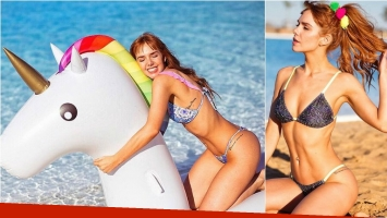 ¡Muy diosa! Las fotos sexies de Julieta Nair Calvo, la diosa de Las Estrellas, en bikini. Foto: Instagram