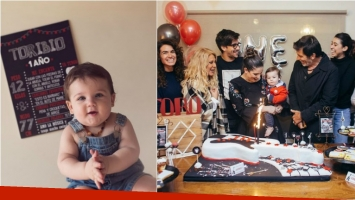 ¡Toda la familia unida! El cumpleaños rockero de 1 año de Toribio, el hijo de Juana Repetto: