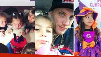 ¡Que los cumplas! La felicidad del Polaco por los 4 años de su hija más chica. Foto: Instagram