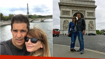 La romántica escapada de Amalia Granata y Leo Squarzon en París: