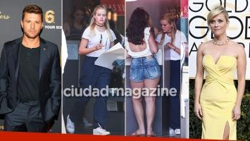 La hija de Reese Witherspoon y Ryan Phillippe, empleada en una pizzería de Los Ángeles. Foto: Grosby Group