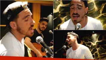 Fede Bal se anima a la música y grabó un cover de Babasónicos. Foto: Captura