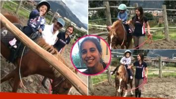 El nuevo hobbie de las hijas de Cintia Fernández: