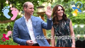 ¡Embarazo real! El príncipe William y Kate Middleton esperan su tercer hijo. (Foto: AFP)