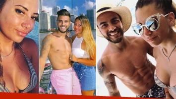 Mayra Mohamed y Tito Villalba, enamorados en Estados Unidos. (Foto: revista Caras e Instagram)