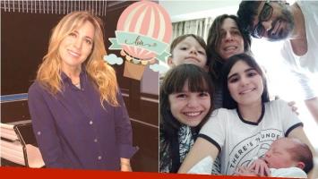 La felicidad de Sandra Borghi por el nacimiento de Juana: